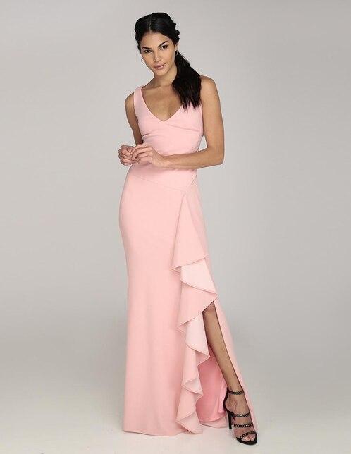 Vestidos rosas cortos fiesta