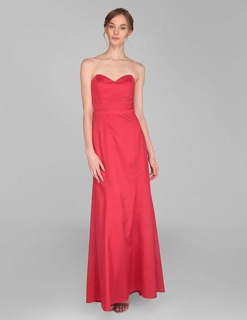 568690674 Vestido de fiesta Rue de la Paix rojo