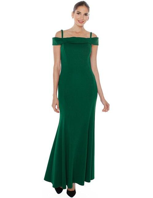 2f94baf777 Vestido Rimini Couture verde de noche