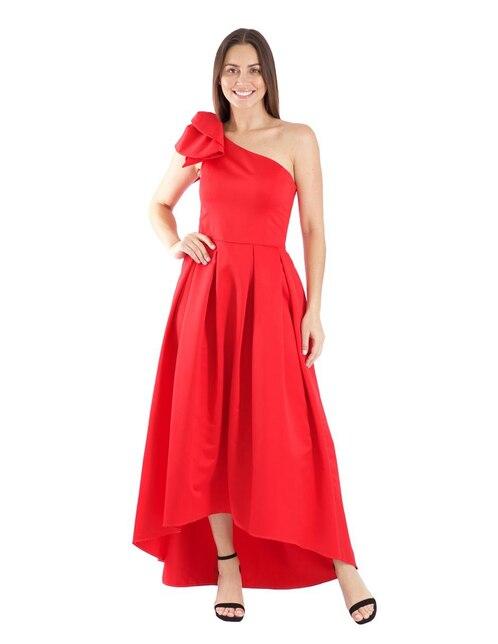 Vestido Rue De La Paix Rojo De Fiesta