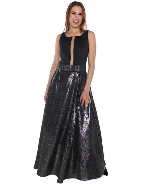 32389abba Vestido Rimini Couture fiesta moño