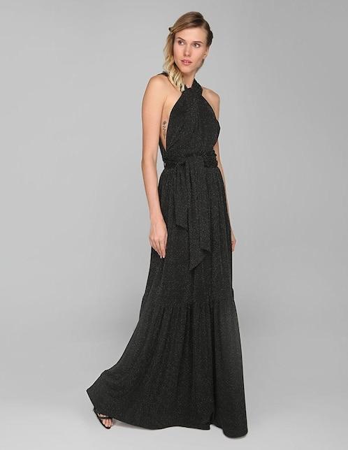 22cc1db83 Vestido formal Kris by Kris Goyri negro