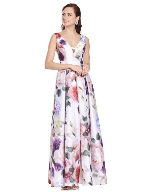 164c57636 Vestido de fiesta Brazzi J con diseño floral ...