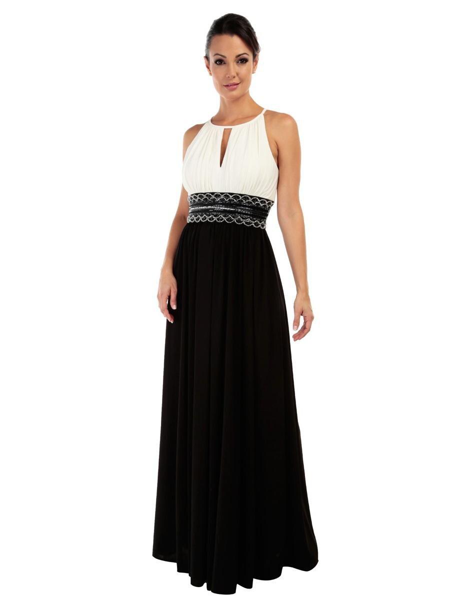 291ac5cc01 Vestido liso Rue de la Paix negro