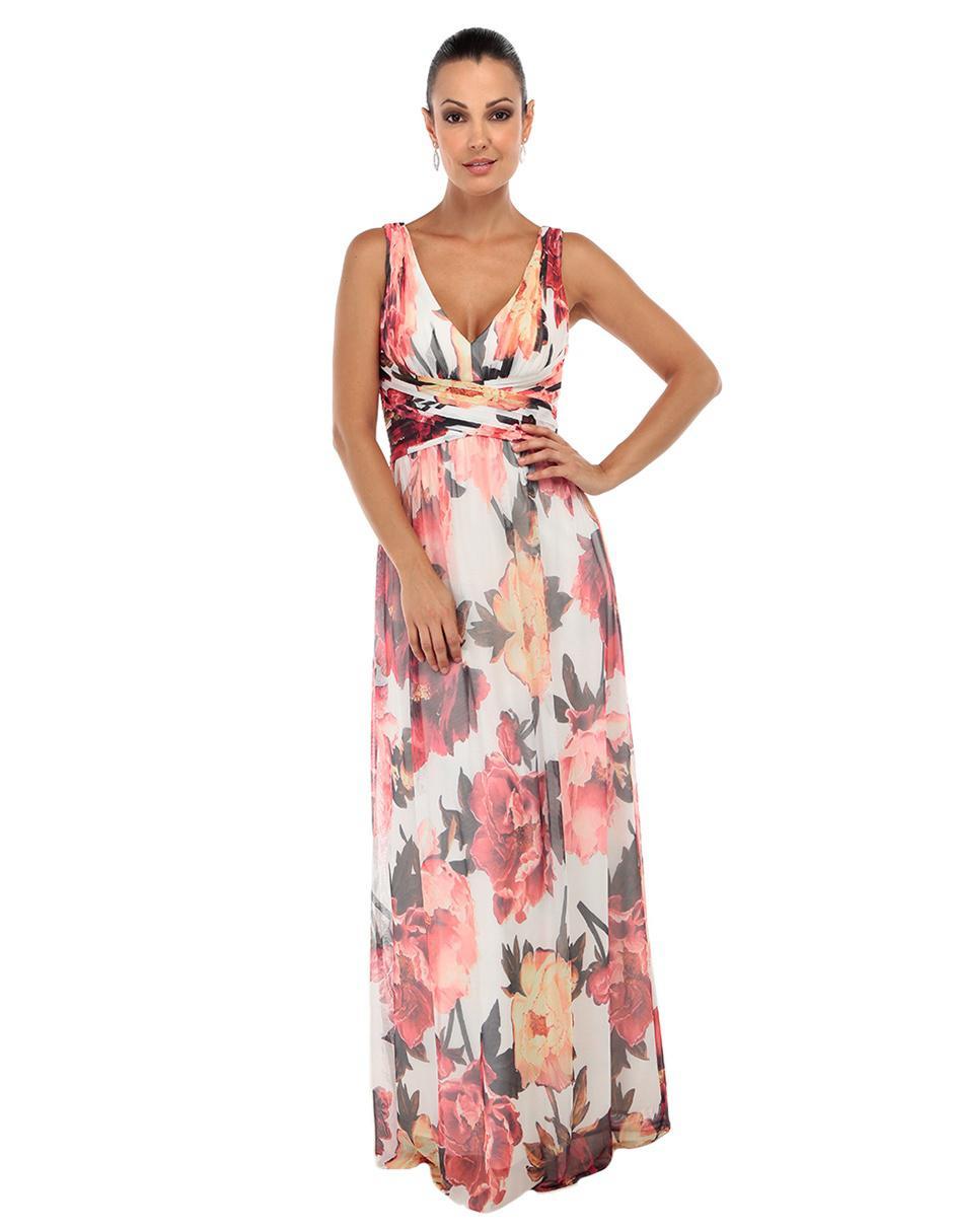 Vestido Floral Rue De La Paix
