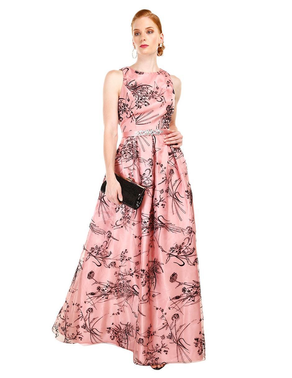 Vestido con diseño gráfico Rue de la Paix rosa bd147e57a49