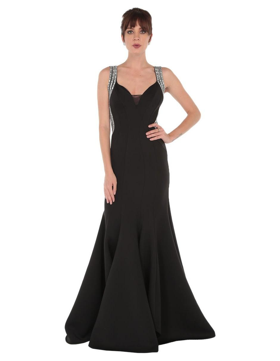 55745c073 Vestido Nikki Elite negro noche