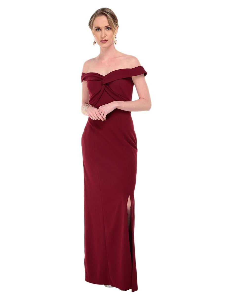Vestido Rue De La Paix Vino Noche