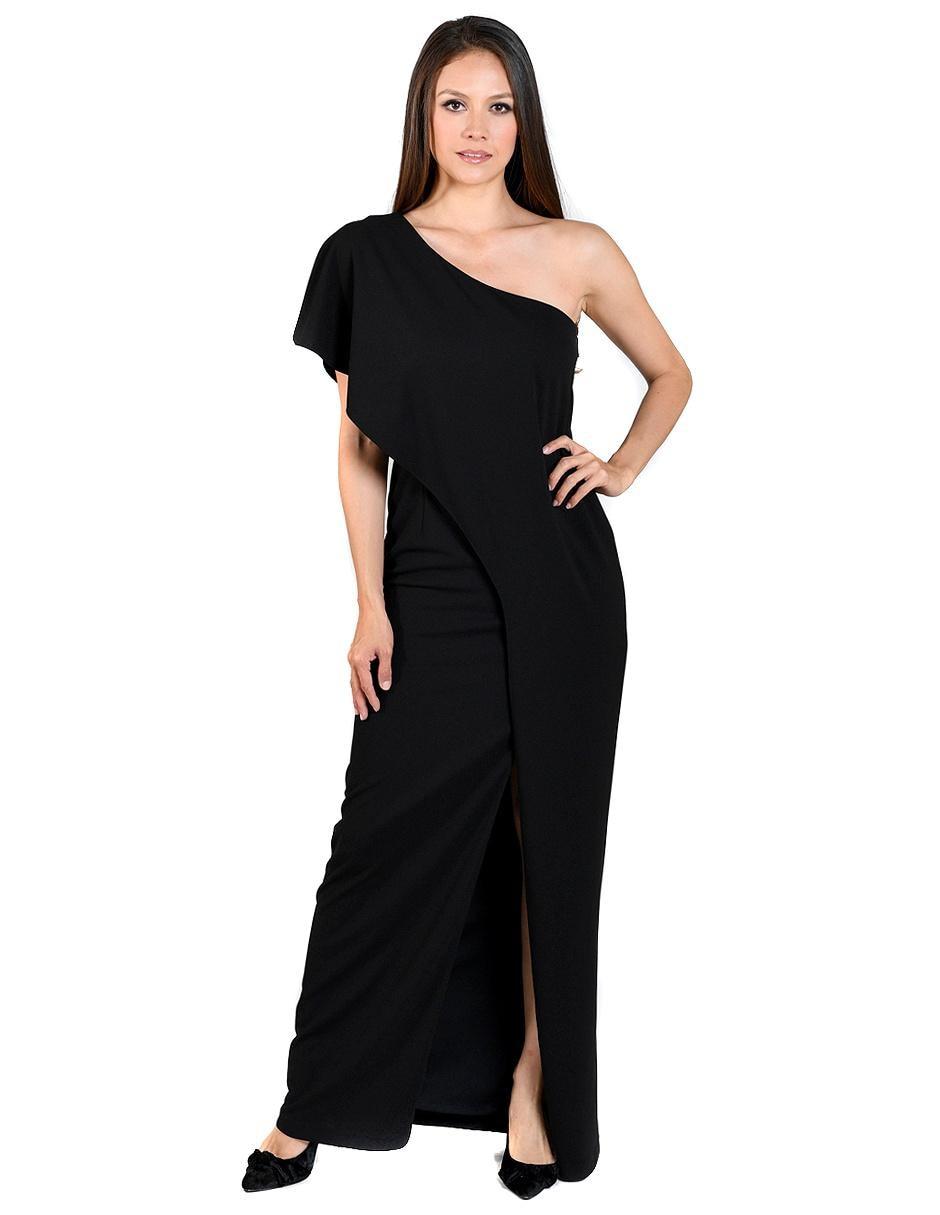 Vestido Rue De La Paix Negro De Noche