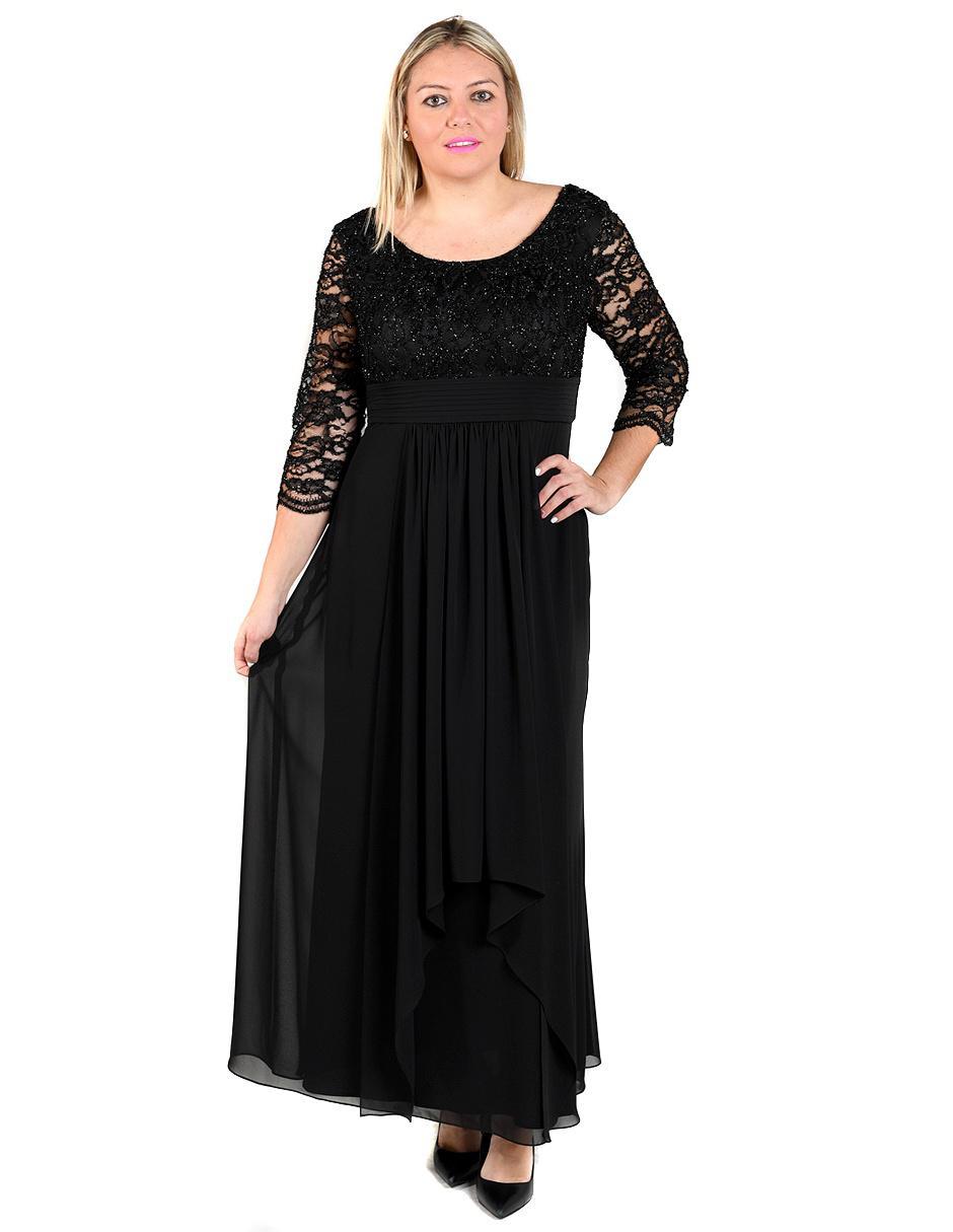 56d86e10f Vestido Rue de la Paix negro noche