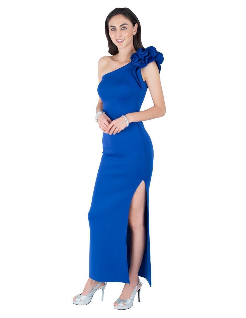 Vestido Rue De La Paix Azul Rey De Cocktail