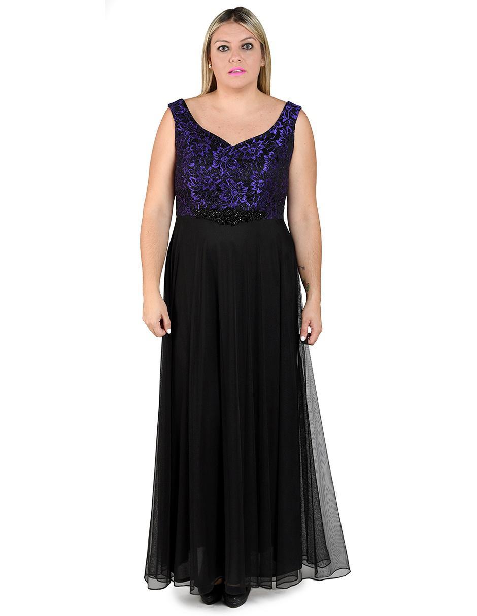 Vestido De Noche Rue De La Paix Negro